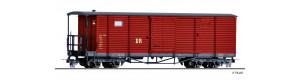 Úzkorozchodný zavazadlový vůz KD4, červený, DR, IV. epocha, H0e, Tillig 05941