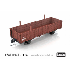 Stavebnice úzkorozchodného vozu V/u - Jk/s, TTe, Body TTe008