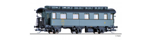 Osobní vůz 1./2. třídy, CFL, III. epocha, TT, Tillig 16052
