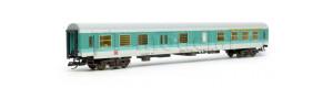 Osobní vůz 1./2. třídy řady ABDomsbd 409.1 se zavazadlovým oddílem, DB AG, V. epocha, TT, Tillig 501848