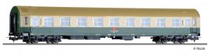 Osobní vůz 1./2. třídy řady AB 511, typ Y, DB AG, V. epocha, H0, Tillig 74948