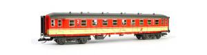 Osobní vůz 2. třídy řady Bp, ÖBB, IV. epocha, TT, Tillig 13309