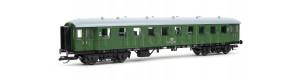 Osobní vůz 2. třídy řady Bye 655, DB, IV. epocha, TT, Tillig 13357