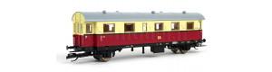 Osobní vůz 2. třídy řady Bi, DR, III. epocha, TT, Tillig 16004