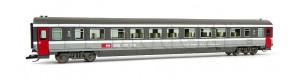 Osobní vůz 2. třídy řady Bpm, SBB, V.-VI. epocha, TT, Tillig 16514