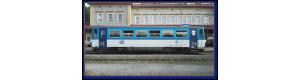Přívěsný vůz k motorovému vozu řady 810, ČD, Najbrt, V. epocha, TT, Kuehn 33760