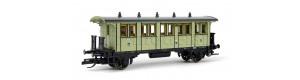 Osobní vůz 4. třídy, K.P.E.V., I. epocha, TT, Tillig 13101