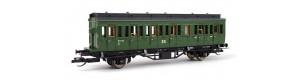 Osobní vůz 2. třídy, DR, řady B, III. epocha, TT, Tillig 13154