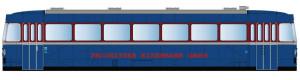 Řídicí vůz VS 98/S1, Prignitzer Eisenbahn GmbH, digital, VI. epocha, TT, Kres 9813D