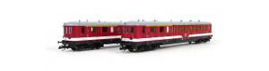Set dvou řídicích vozů BR 195, DR, IV. epocha, TT, Tillig 01011