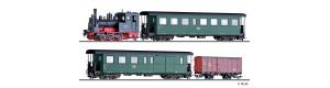 Set úzkorozchodného vlaku, DR, III. epocha, H0m, Tillig 01172