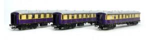 "Set osobních vozů ""Rheingold-Express"", DRG, II. epocha, TT, Tillig 01784"