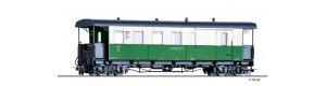 Úzkorozchodný osobní vůz KBPw4i, NKB, III. epocha, H0e, Tillig 03964