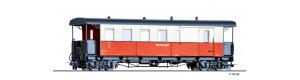 Úzkorozchodný osobní vůz KBPw4i, NKB, III. epocha, H0m, Tillig 13965