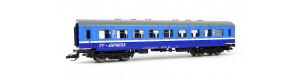 "Osobní vůz 2. třídy, ""TT-Express"", START, TT, Tillig 13191"