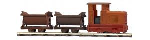 Zrezivělý vlak, H0f, Busch 12117
