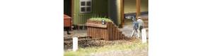 Dřevěné zarážedlo, TT, Auhagen 43670