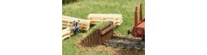 Dřevěné zarážedlo, N, Auhagen 44655