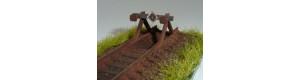 Zarážedlo, 2 kusy, TT, IGRA MODEL 130023