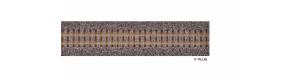 Kolejové lože pro úzkorozchodnou flexi kolej, hnědé, délka 700 mm, H0e, Tillig 86711