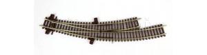 Oblouková výhybka levá BWL, TT, Kuehn 72630
