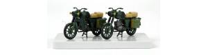 Motocykl MZ TS 250, 2 kusy, NVA, H0, Kres 10271