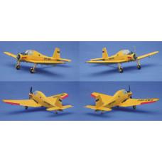 Hotový model agrárního letadla Z-37A, označení D-ESWE, H0, Kres 3377