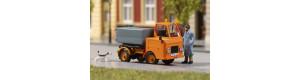 Stavebnice vozu Multicar M22, cisterna, oranžová, H0, Auhagen 41657