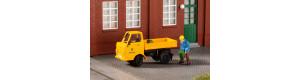 Stavebnice vozu Multicar M22, traťovka, oranžová, H0, Auhagen 41669