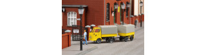 Stavebnice poštovního automobilu Multicar M22 s přívěsem, TT, Auhagen 43662