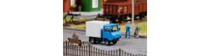 Stavebnice nákladního automobilu Multicar M24-0 se skříňovou nástavbou, TT, Auhagen 43673