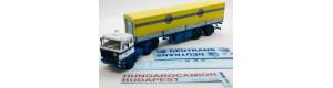 Stavebnice - návěs s plachtou Tranders pro Volvo, obtisk ČSAD, TT, Štěpnička 134a
