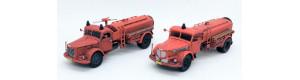 Stavebnice -  Škoda 706R AKVS, hasičský vůz, detailní kabina, TT, Štěpnička 144b