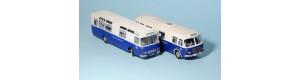 Stavebnice poštovních autobusů Škoda 706 RTO + ŠL11 Československá pošta, TT, MojeTT 120030