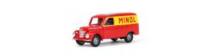 """Užitkový automobil Framo, skříň, """"MINOL"""", TT, Busch 8674"""