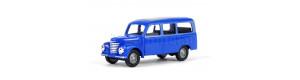 Užitkový automobil Framo, mikrobus, modrá/šedá, TT, Busch 8684
