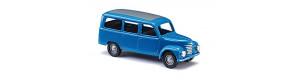 Užitkový automobil Framo V901/2, prosklený, modrý, TT, Busch 8680