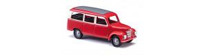 Užitkový automobil Framo V901/2, prosklený, červeno-béžový, TT, Busch 8682