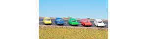 Set automobilů Lada Combi, různé barvy, TT, Schirmer 10480