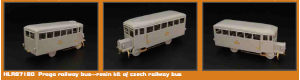 Stavebnice kolejového autobusu, H0, Hauler HLR87180