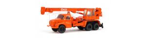 Autojeřáb Tatra T 148 AD 20, barva oranžová, hotový model, TT, Pavlas APH40a