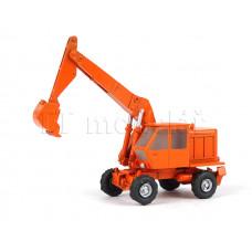 Bagr Fortschritt T-174, model, oranžový, TT, Pavlas APH51a