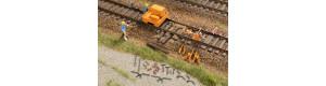 Set pro stavbu a údržbu kolejí, H0, Auhagen 41670
