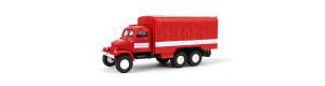 Nákladní automobil Praga V3S, hasiči, skříň, III.–V. epocha, TT, IGRA MODEL 66708010