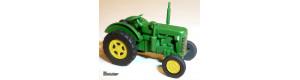 Stavebnice Traktor Zetor 25a, TT, Miniatur MT18