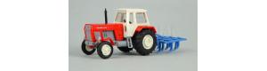 Traktor FORTSCHRITT s kultivátorem, TT, Busch 8712