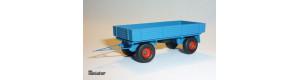 Vlečka traktorová, různé barvy, TT, Miniatur MT16