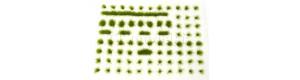 Travní drny, dlouhé, varianta E1, zelená luční, Polák 4141