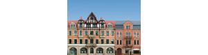 Kulisa, sada 5 kusů průčelí městských domů, Auhagen 42501