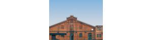 Kulisa, sada 6 kusů továrních budov, Auhagen 42506